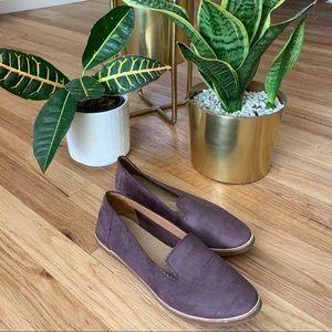 UGG Purple Suede Flats